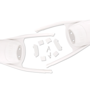 leaderfins-forza-foot-pocket-white-colour